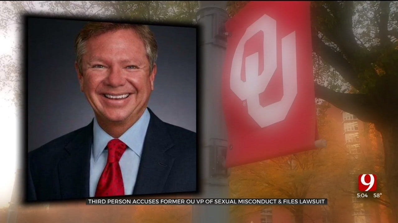 Third Person Files Lawsuit Against Former OU VP Alleging Sexual Misconduct