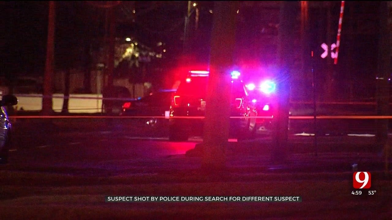 Man Killed In NW OKC Officer-Involved Shooting Identified; Police Still Searching For Unrelated Amber Alert Suspect