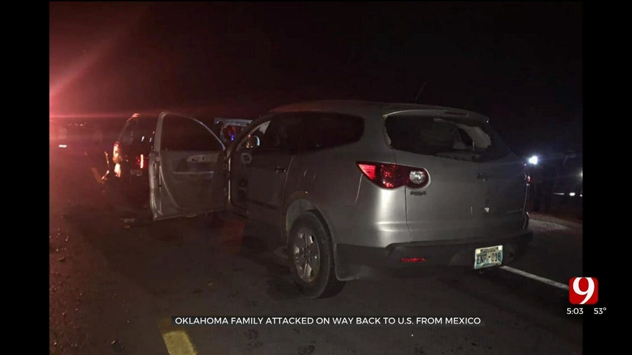 Oklahoma Family Attacked On Way Back To US From Mexico, Authorities Say