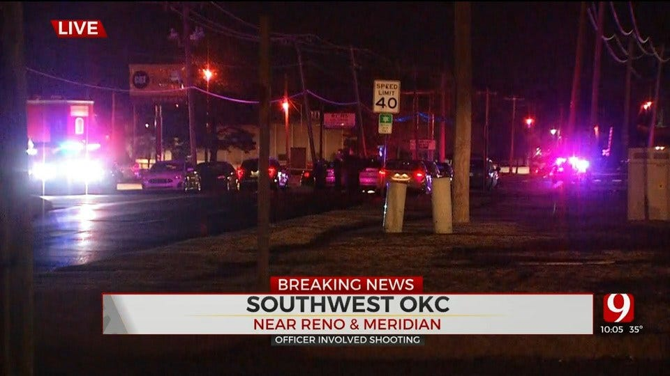 Police Investigate Officer-Involved Shooting In SW OKC