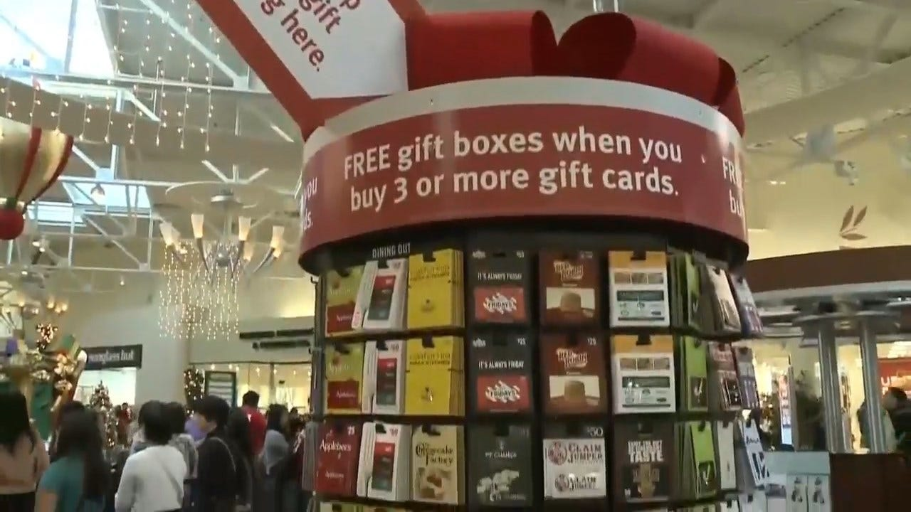 WATCH: Consumers Waste Up To $3 Billion In Unspent Gift Cards A Year