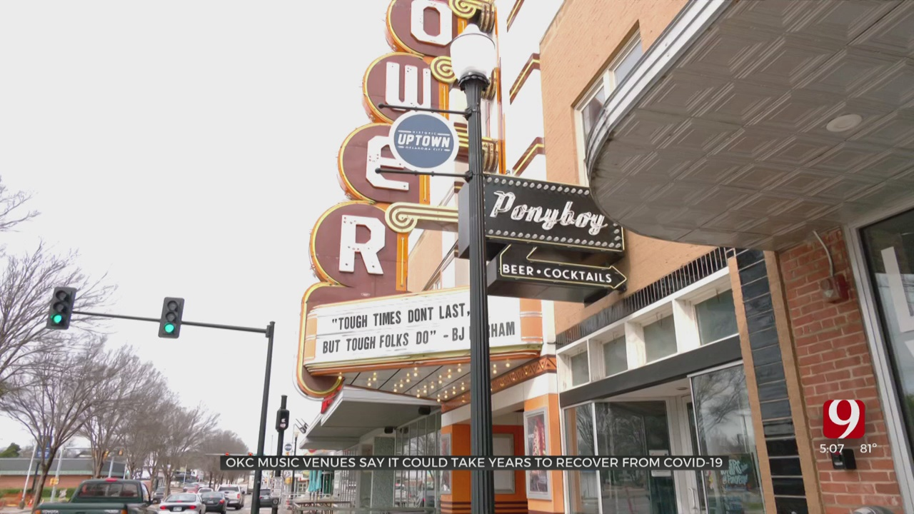 OKC Music Venues Say It Could Take Years To Recover From Coronavirus Pandemic