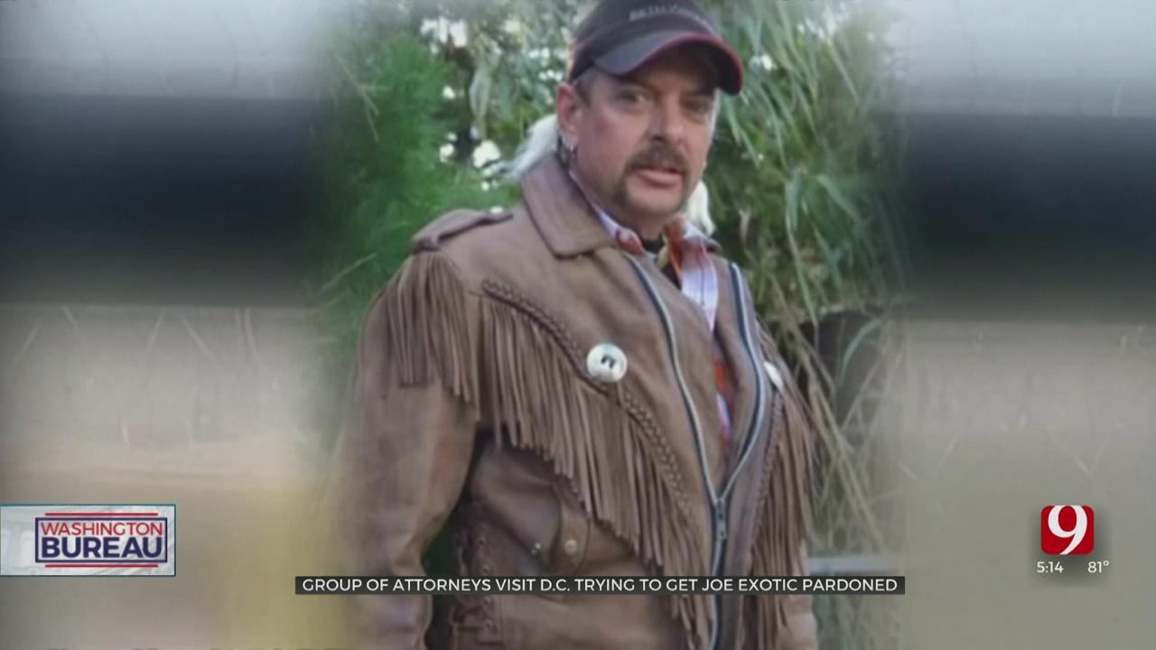 Group of Attorneys Visit DC To Try To Get A Pardon For Joe Exotic