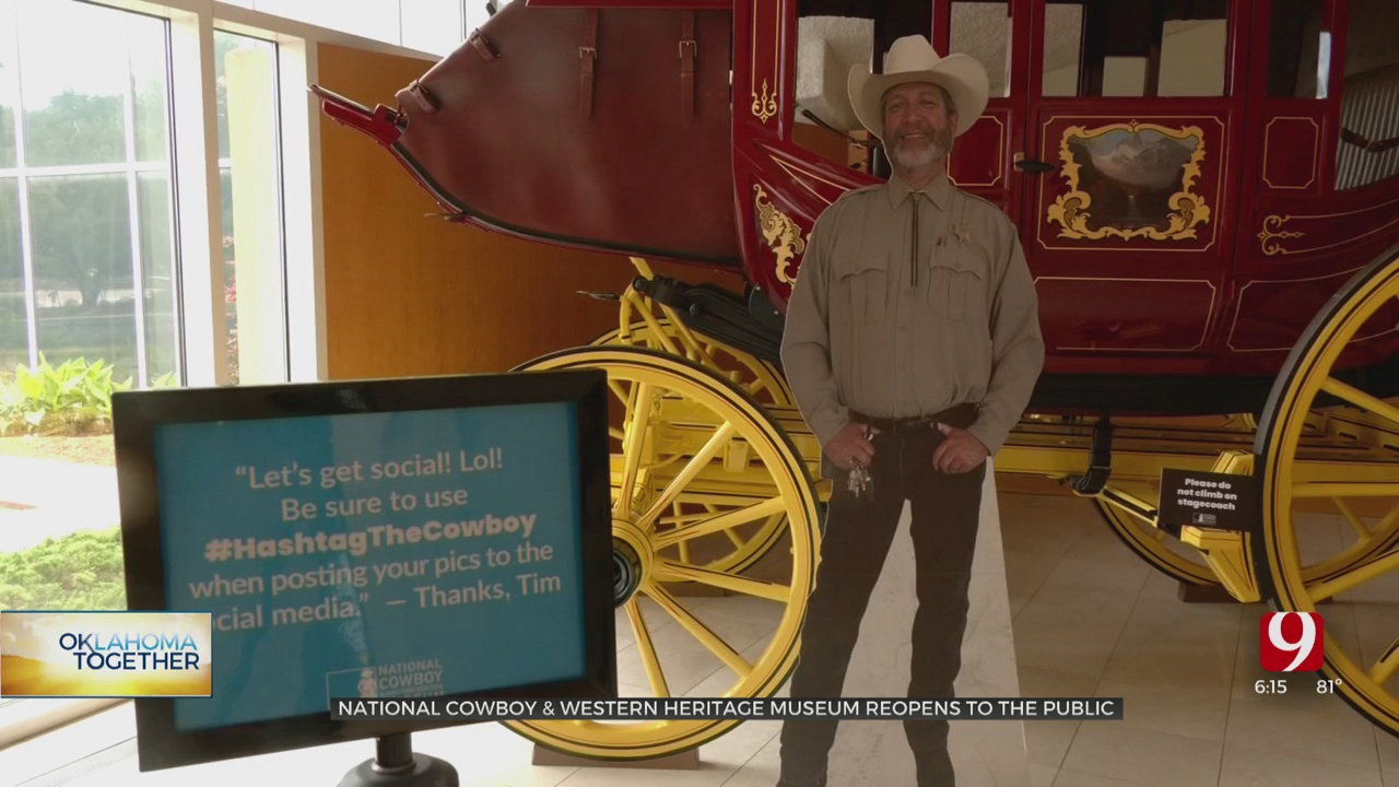 Hashtag The Cowboy Back Again As Museum Reopens