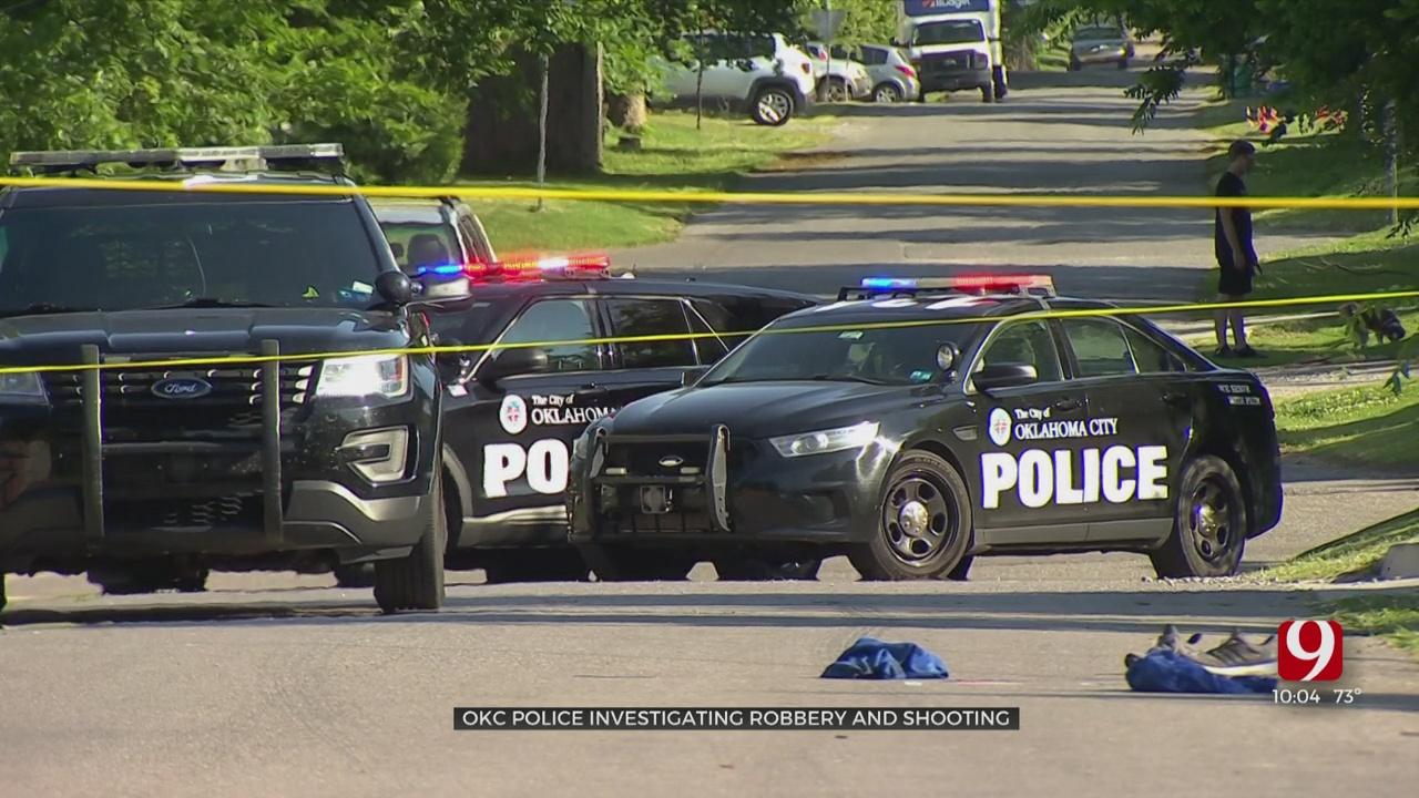 1 Shot In NW OKC Robbery, Suspect In Custody