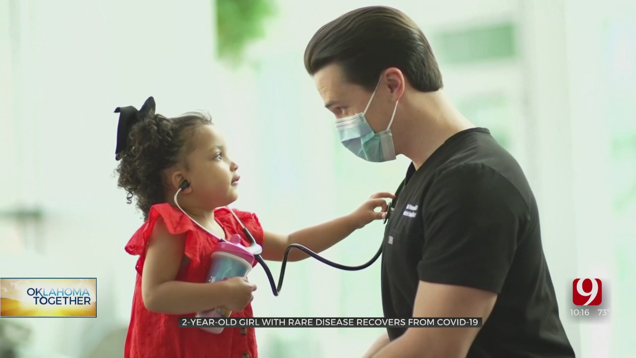 2-Year-Old Girl With Rare Disease Recovers From COVID-19