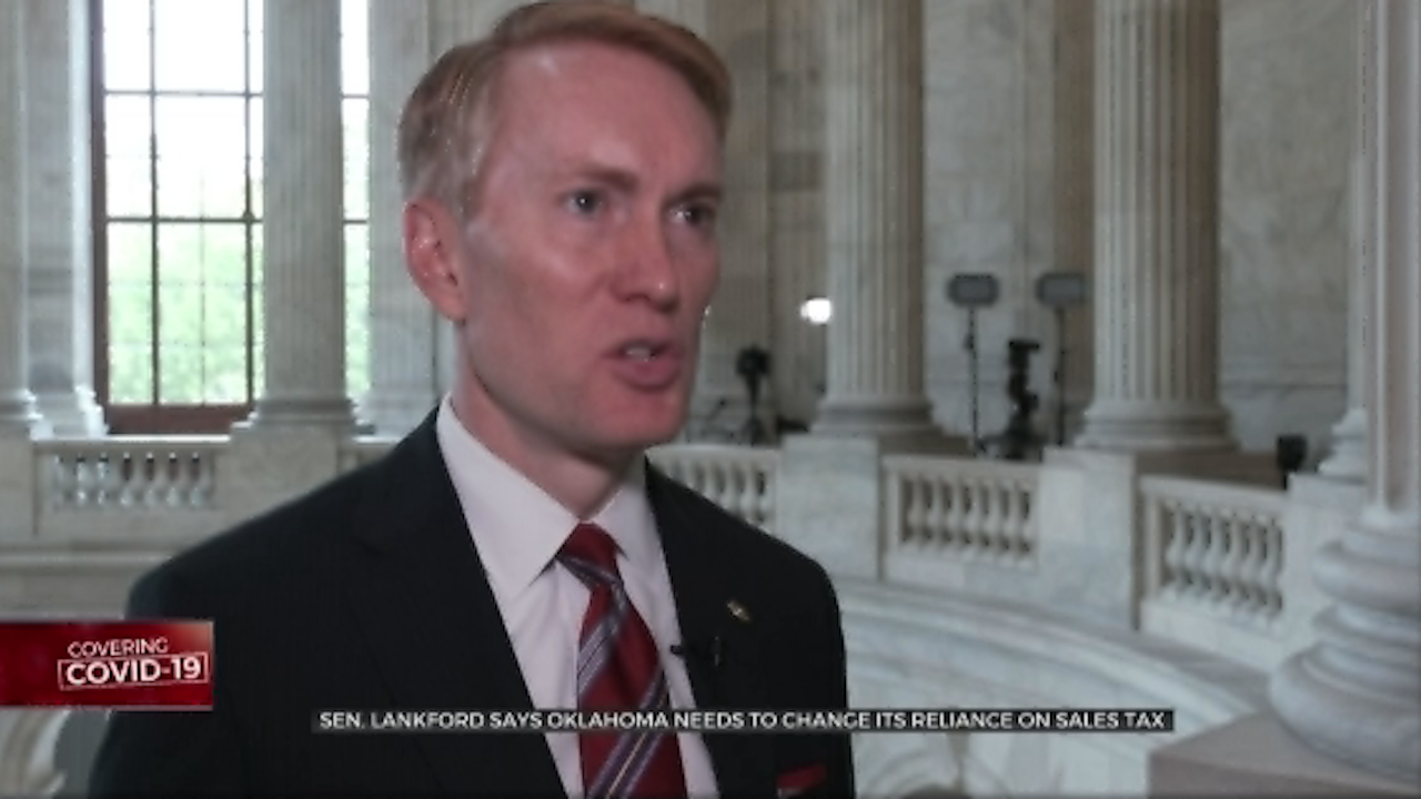 Sen. Lankford Says Okla. Needs To Stop Being Dependent On Sales Tax Revenue