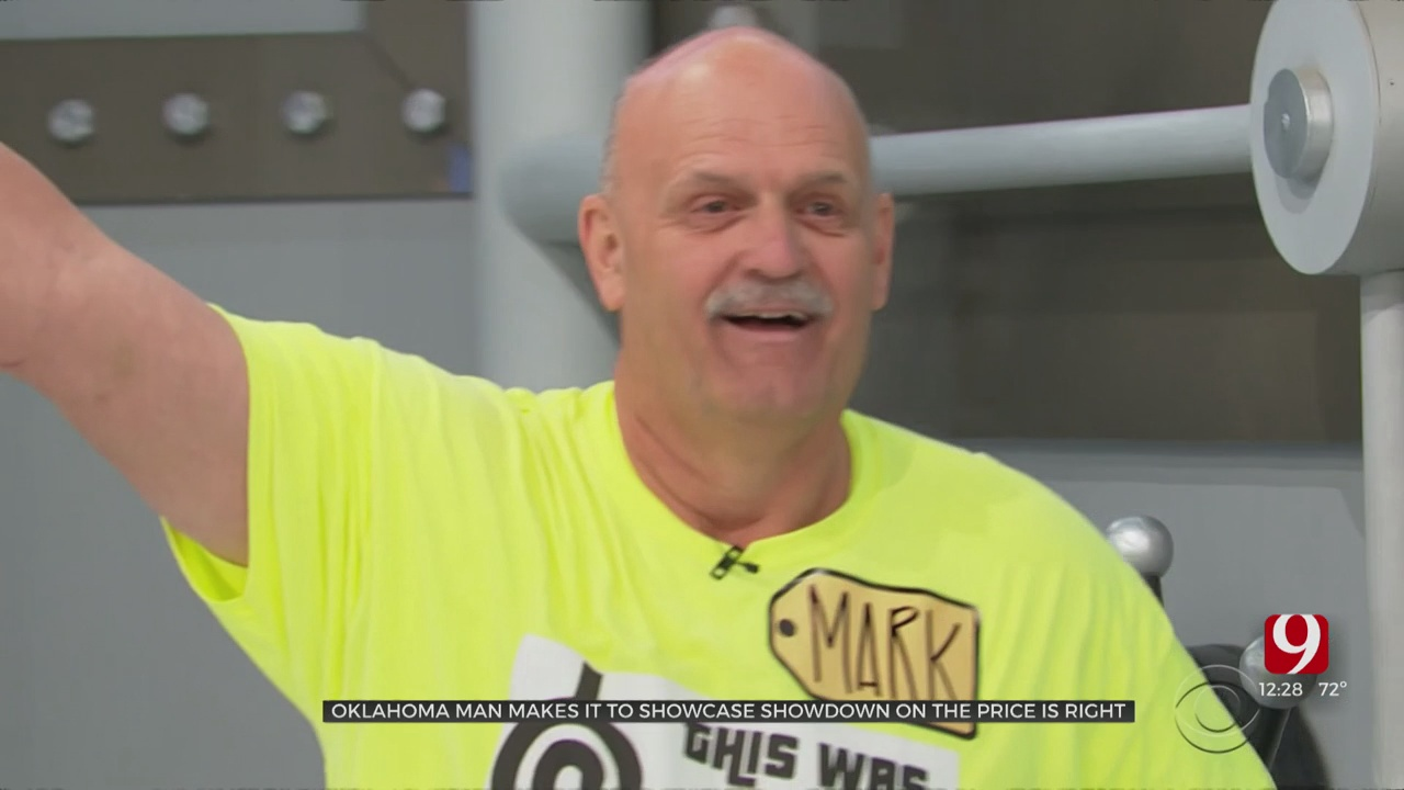 Oklahoma City Man Competes On 'The Price Is Right'
