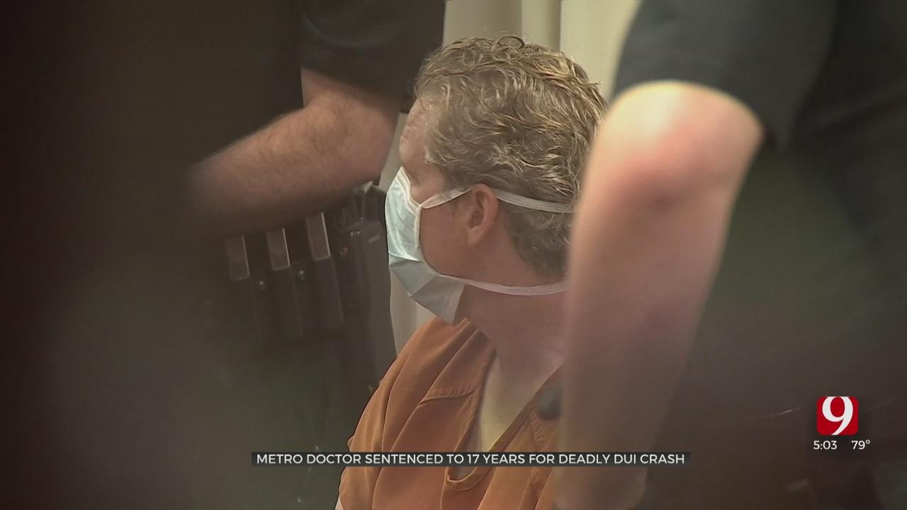Doctor Convicted In Deadly DUI Crash Sentenced To 17 Years In Prison