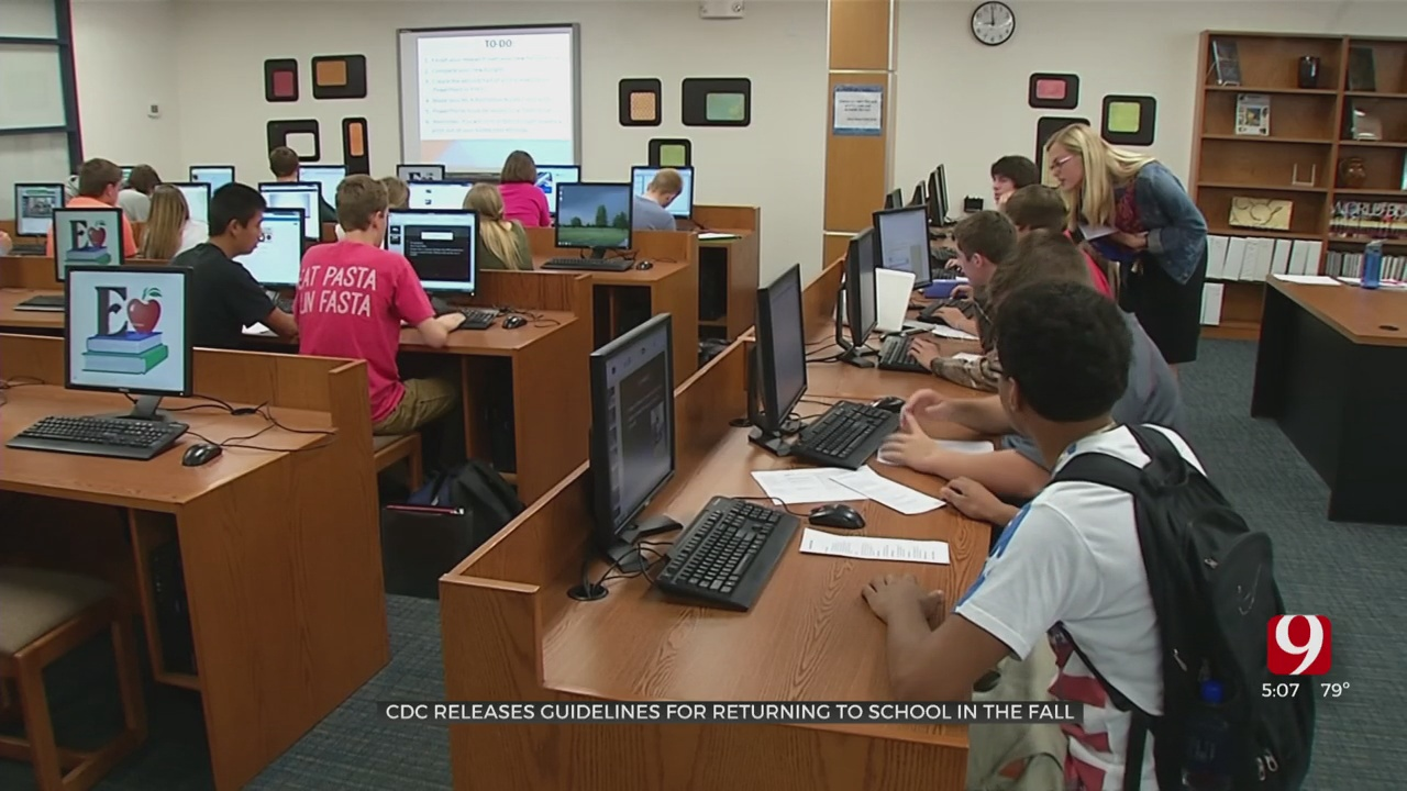 Oklahoma School Leaders Look At Newly Released CDC Guidelines For Reopening Schools