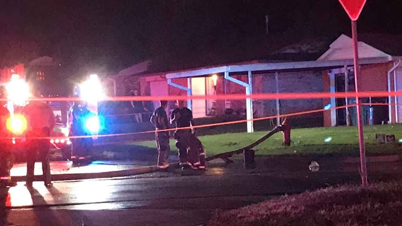 Firefighters Respond To Deadly House Fire In SE OKC