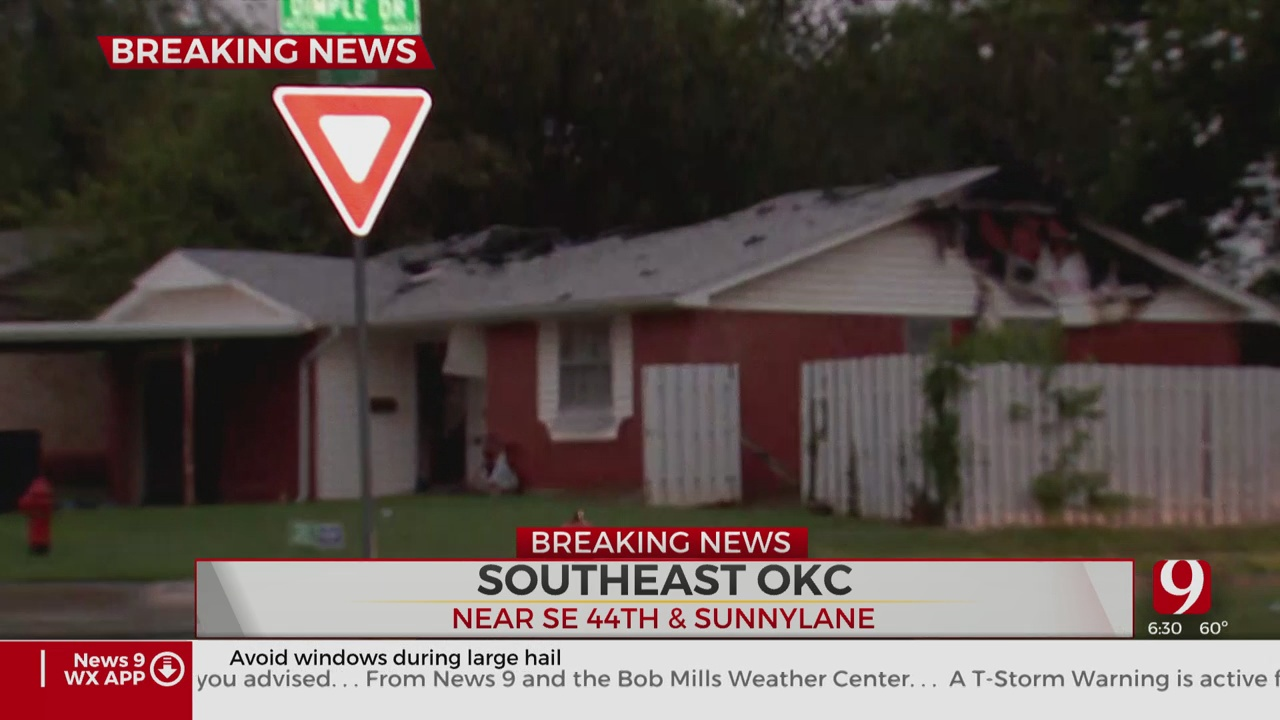 Firefighters Investigate Cause Of Deadly House Fire In SE OKC