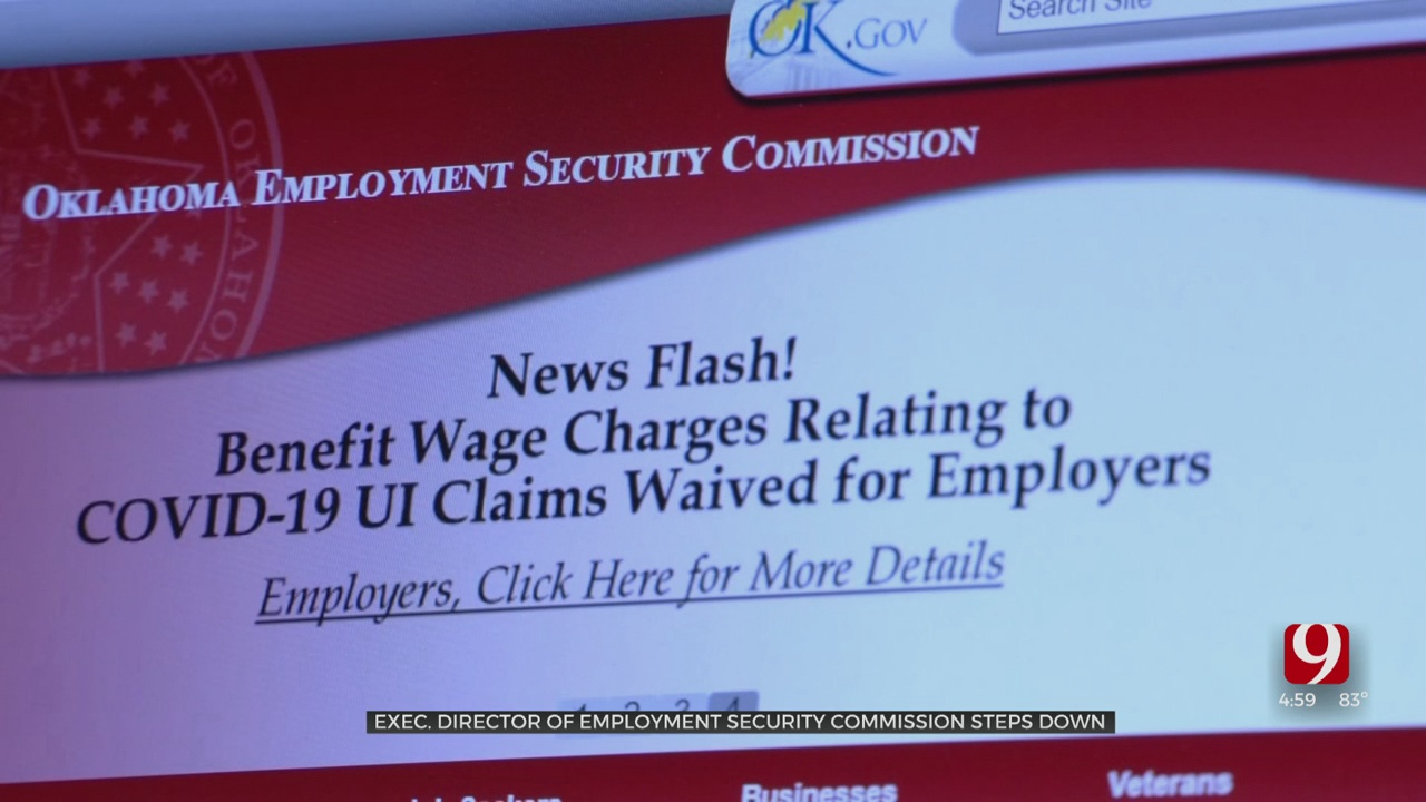 Oklahoma Unemployment Boss Resigns Amid Agency Shake-Up