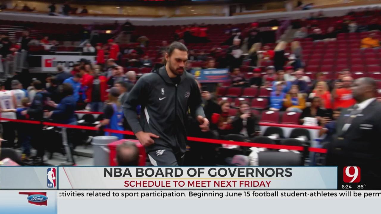 NBA, NBPA Exploring Late July Restart In Orlando