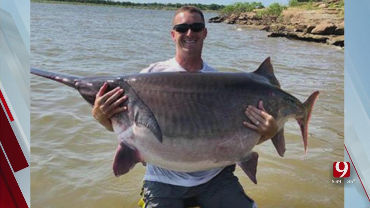 New Oklahoma Fishing Record Broken At Keystone Lake