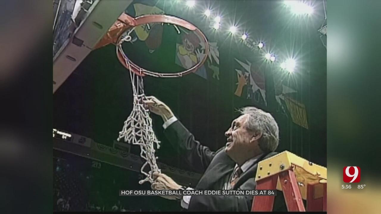 Former Oklahoma State Coach Eddie Sutton Dies At 84