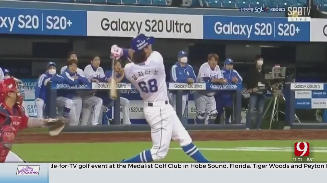 1-On-1 With ORU Alum And Korea Baseball Organization Player Tyler Saladino