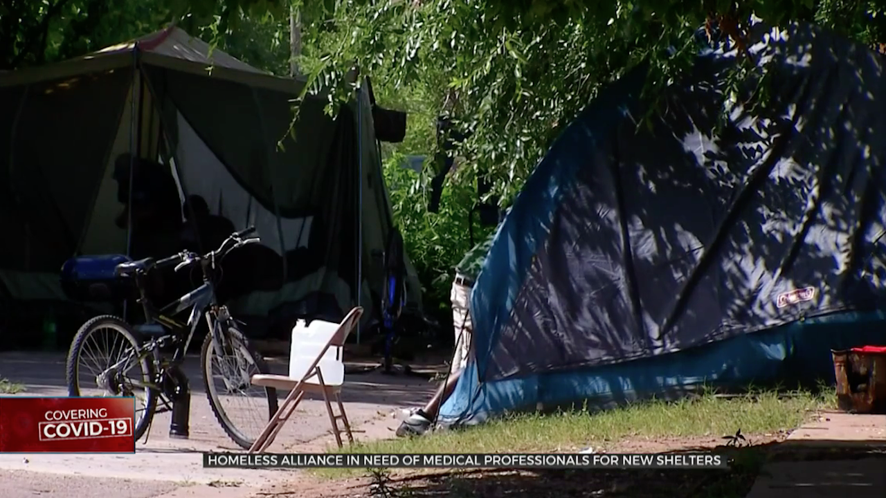 COVID-19 Homeless Still Trying To Find Medical Professionals