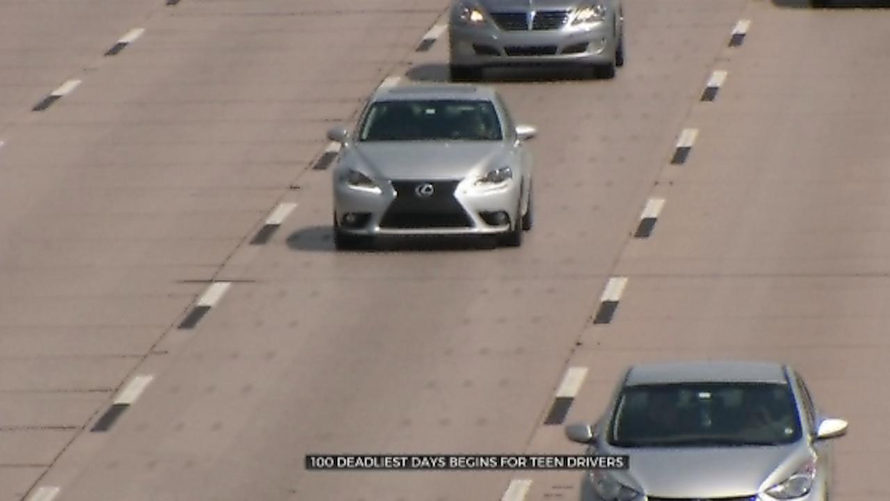 '100 Deadliest Days' Begins For Teen Drivers