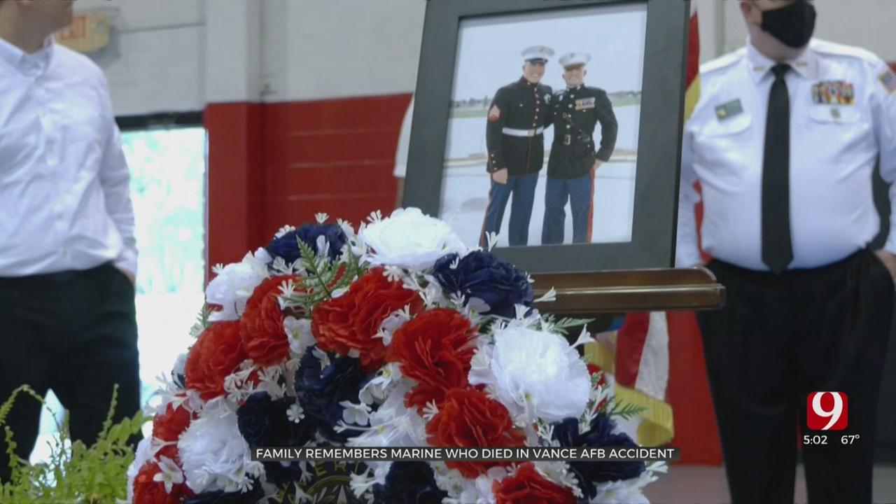 Moore Community Honors Marine On Memorial Day