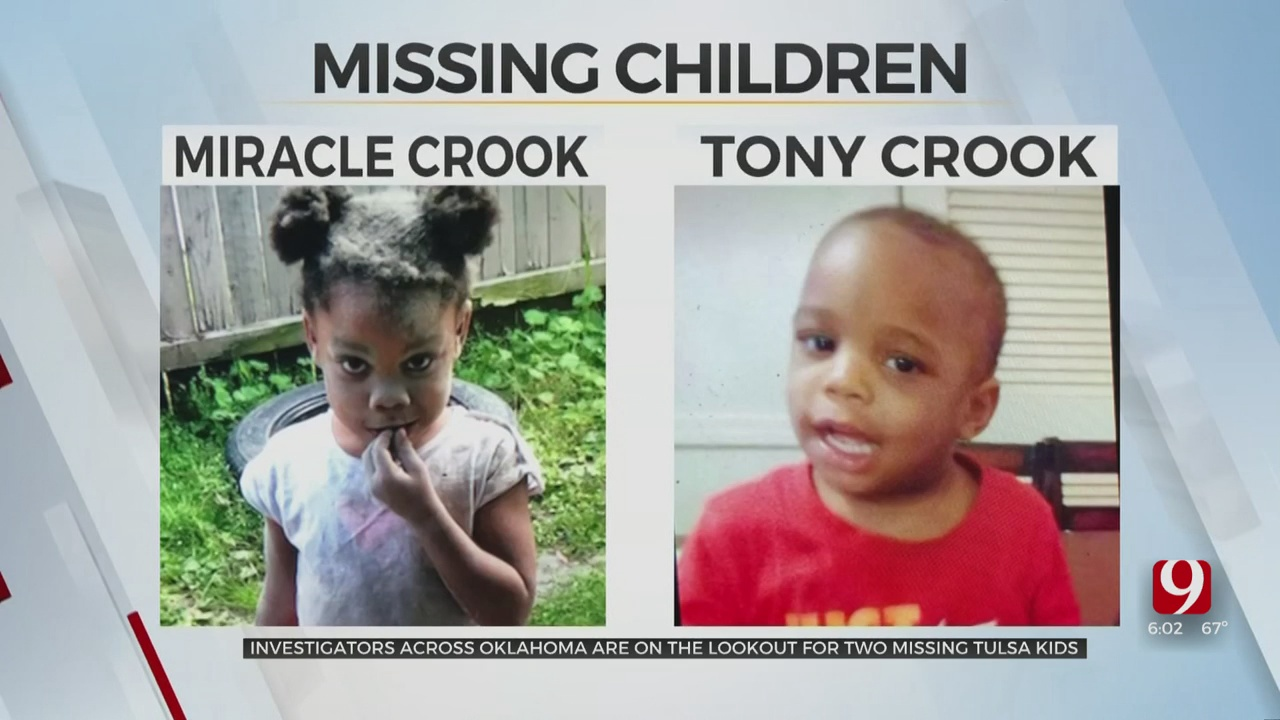 Aunt Speaks Out As Investigators Search For 2 Missing Tulsa Children