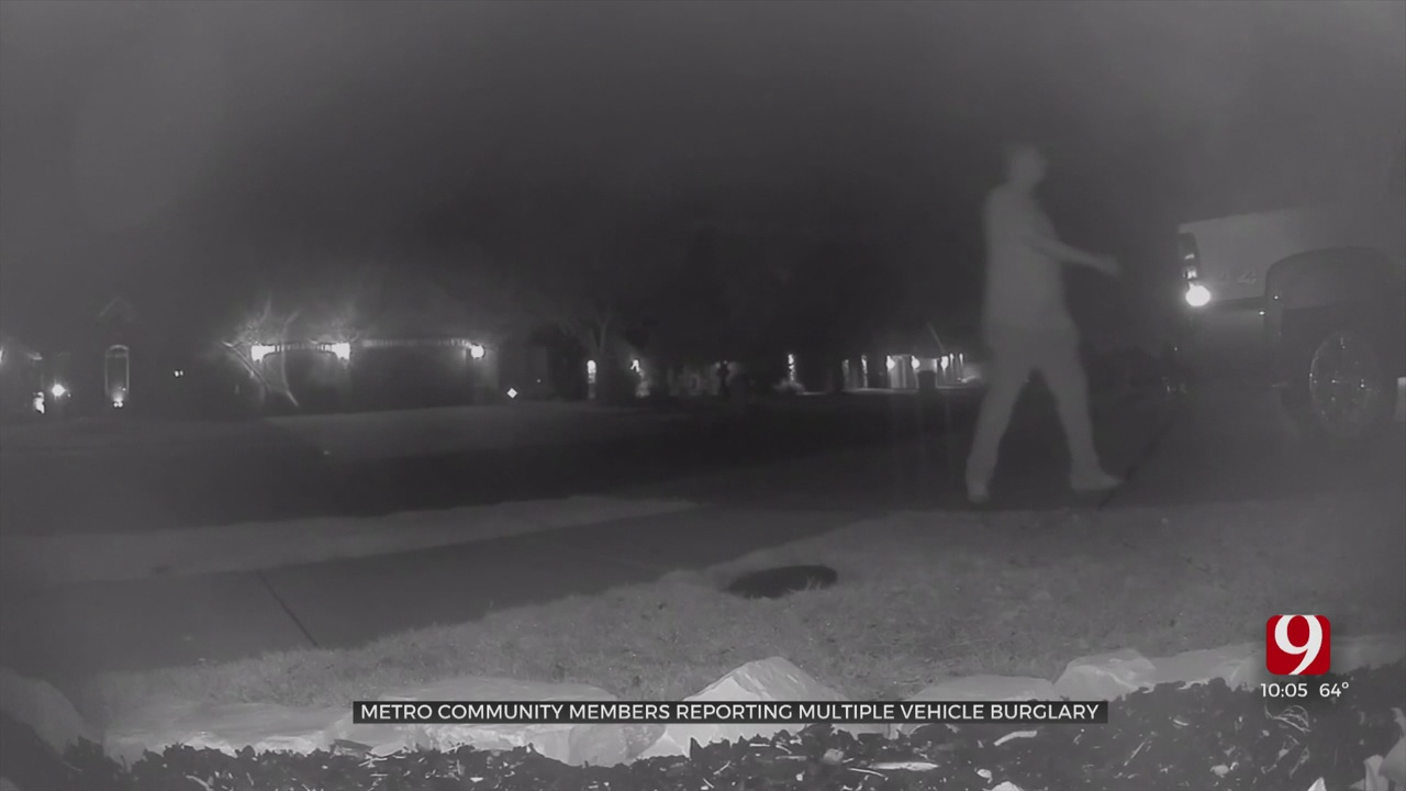 SW OKC Residents Report String Of Car Burglaries In Their Neighborhood