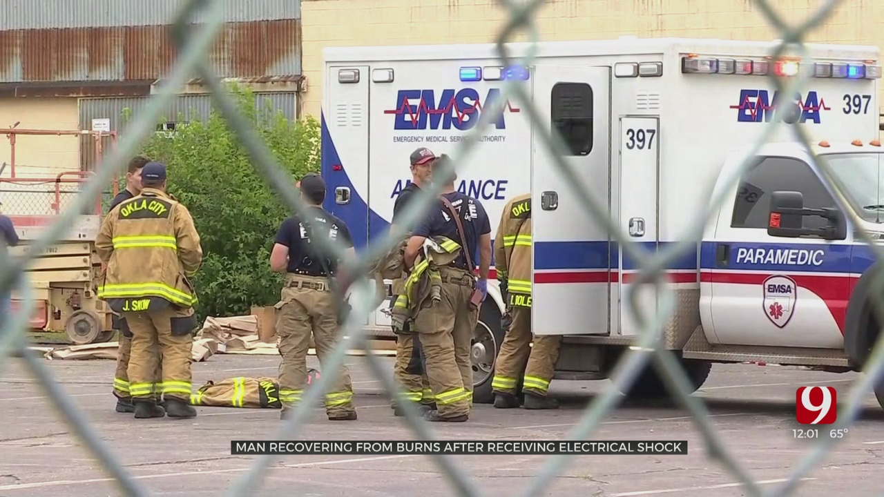 Man Hospitalized After Suffering Electrical Shock During Workplace Accident In NW OKC