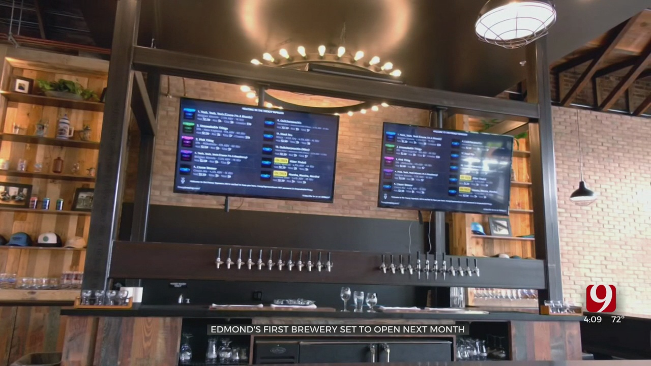First Brewery To Open Soon Within Edmond's City Limits