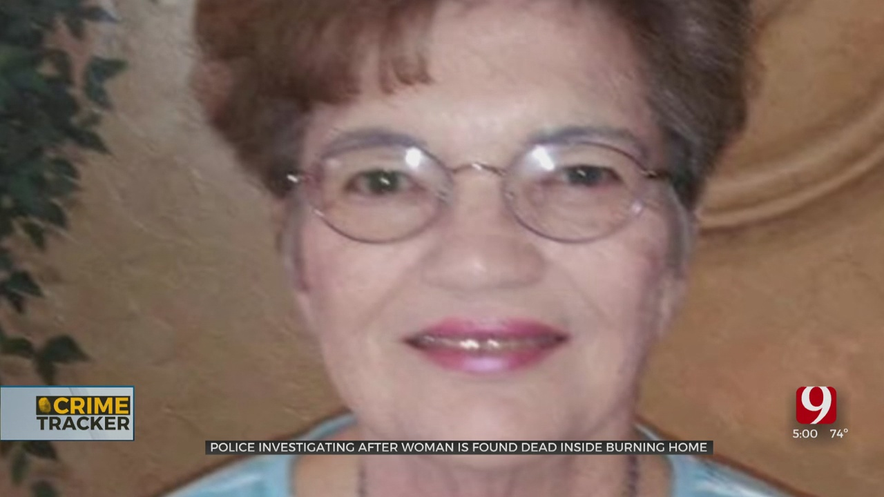 Police Suspect Foul Play In Death Of Elderly Woman After Her Body Was Found In SE OKC House Fire