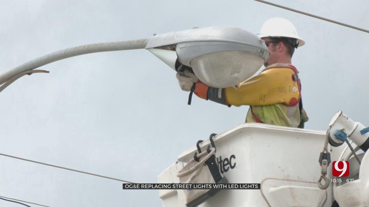 OG&E Upgrades Thousands Of City Streetlights To LED
