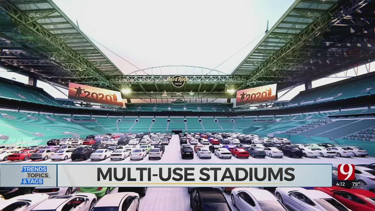Trends, Topics & Tags: Multi-Use Stadiums