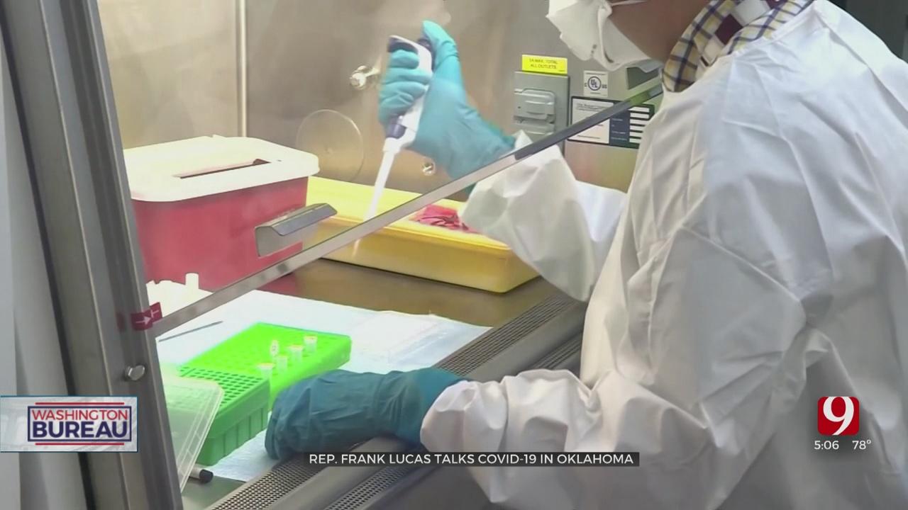 Rep. Frank Lucas Talks About Coronavirus In Oklahoma
