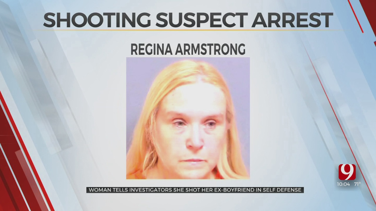Woman Arrested After Telling Police She Shot Ex-Boyfriend In The Head