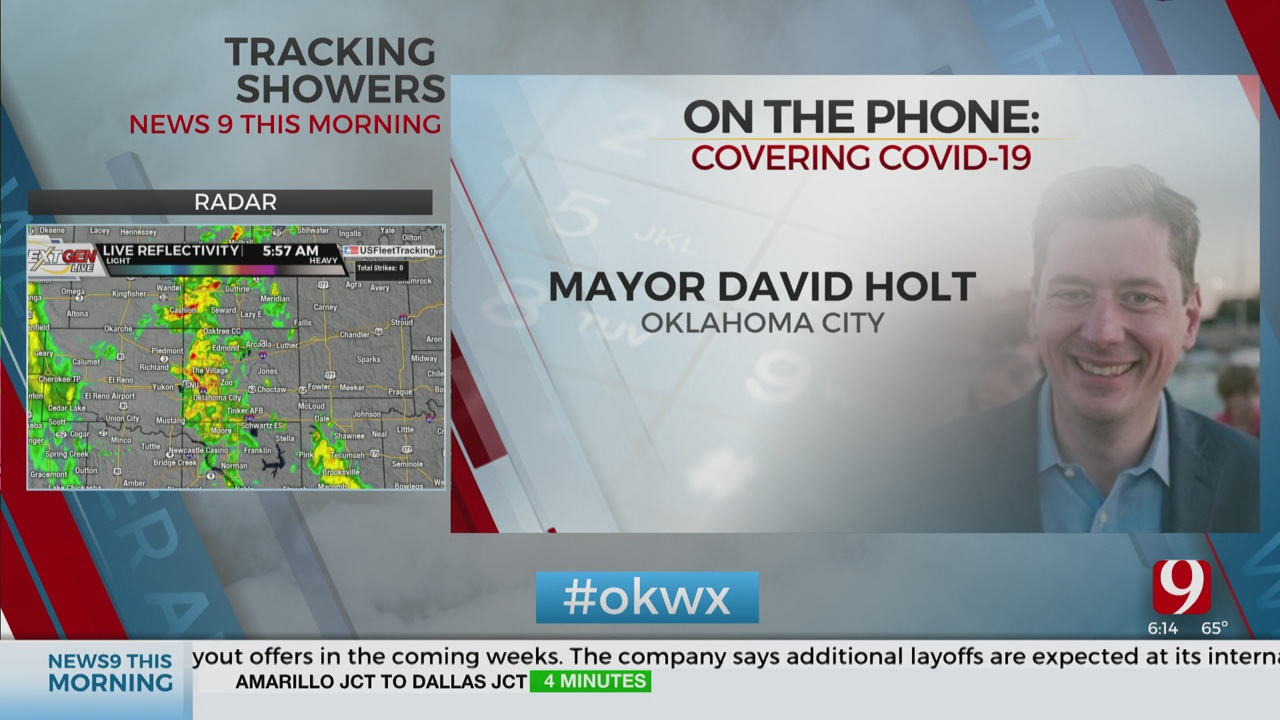 Watch: OKC Mayor Holt On How City Plans To Spend COVID-19 Federal Relief