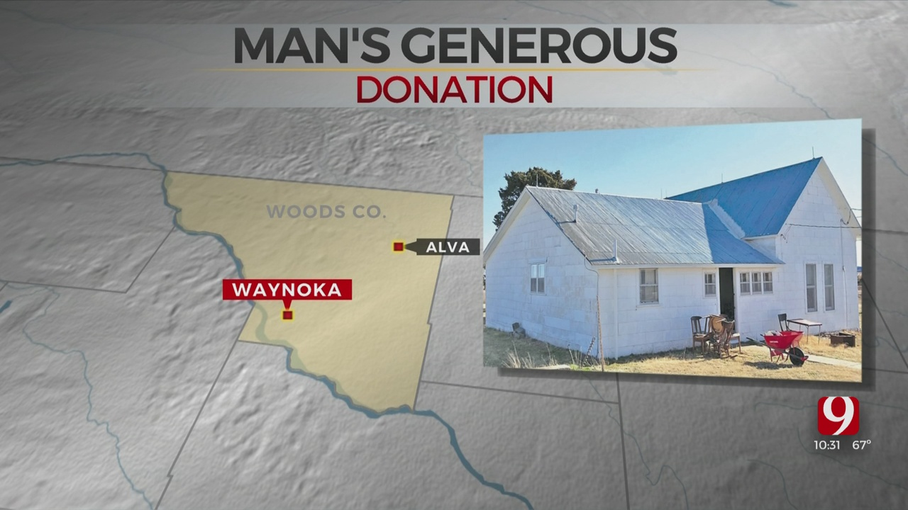 78-Year-Old Man Donated $2 Million Farm To Oklahoma Medical Research