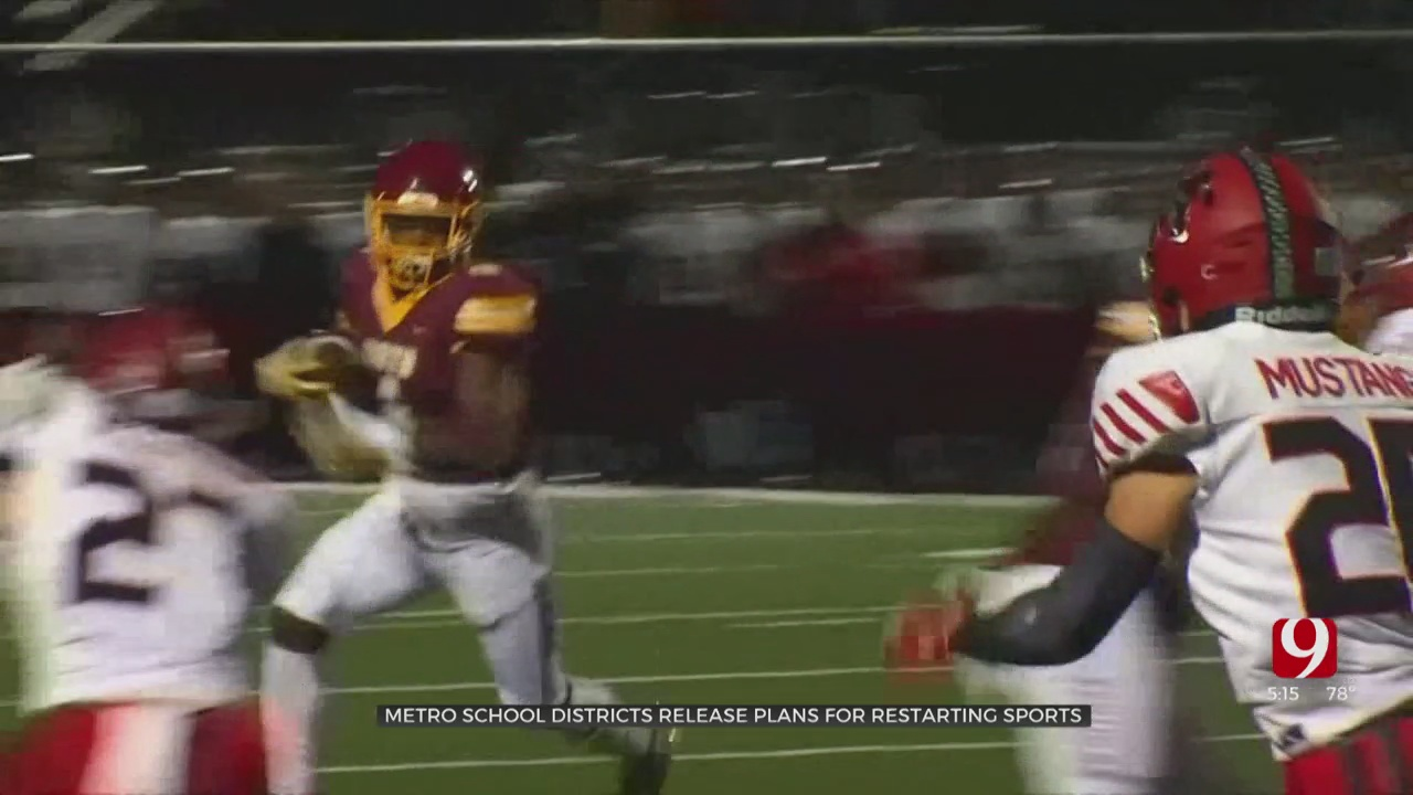 OKC Metro Area School Districts Release Plans For Restarting Athletic Programs