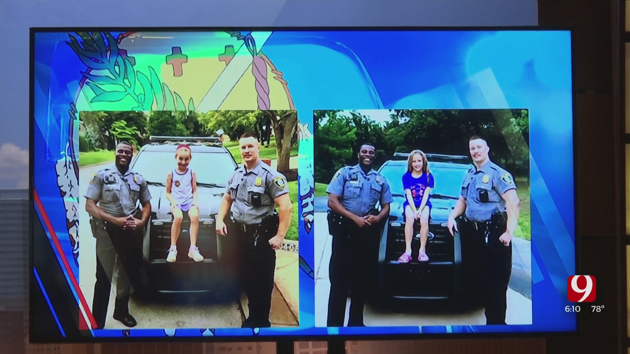 2 Young Girls Sold Lemonade, Snacks To Raise Money To Buy Lunch For Local Police