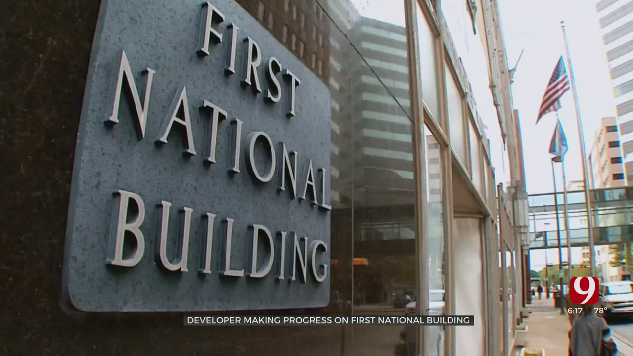 WATCH: Inside Look At Progress Of First National Center In OKC