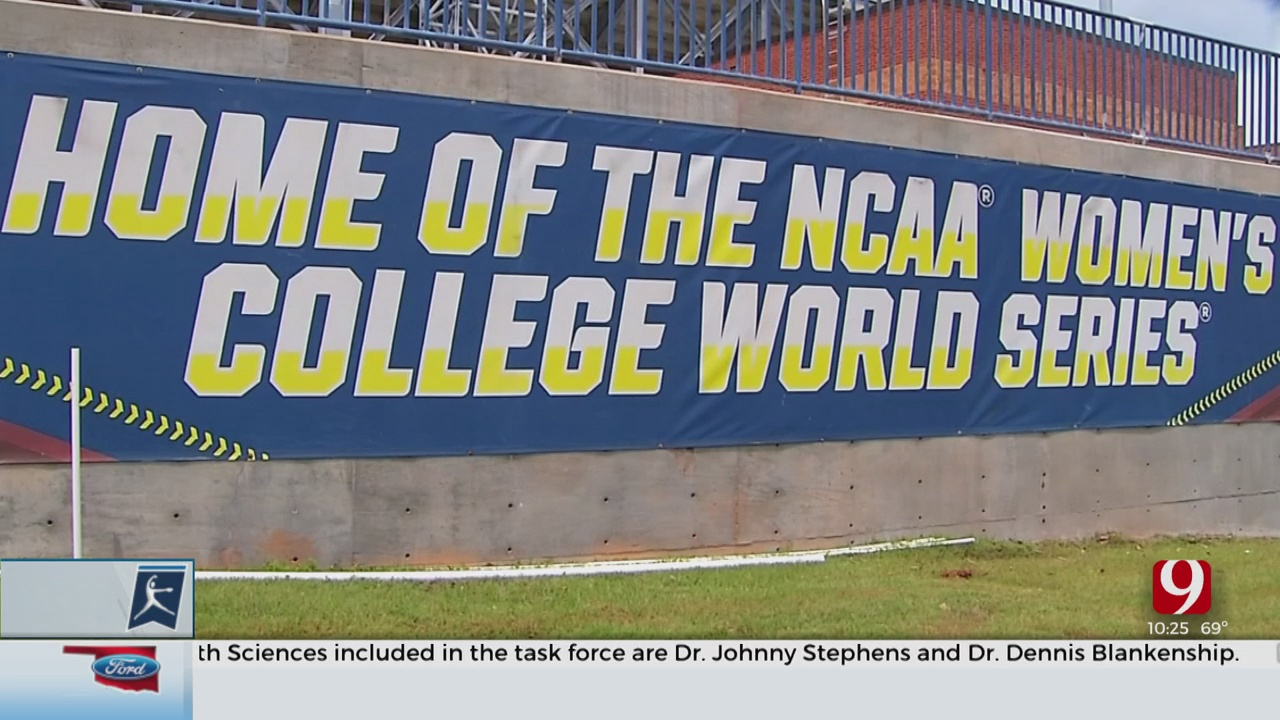 Stadium Sits Empty For Would-Be Start Of Women's College World Series