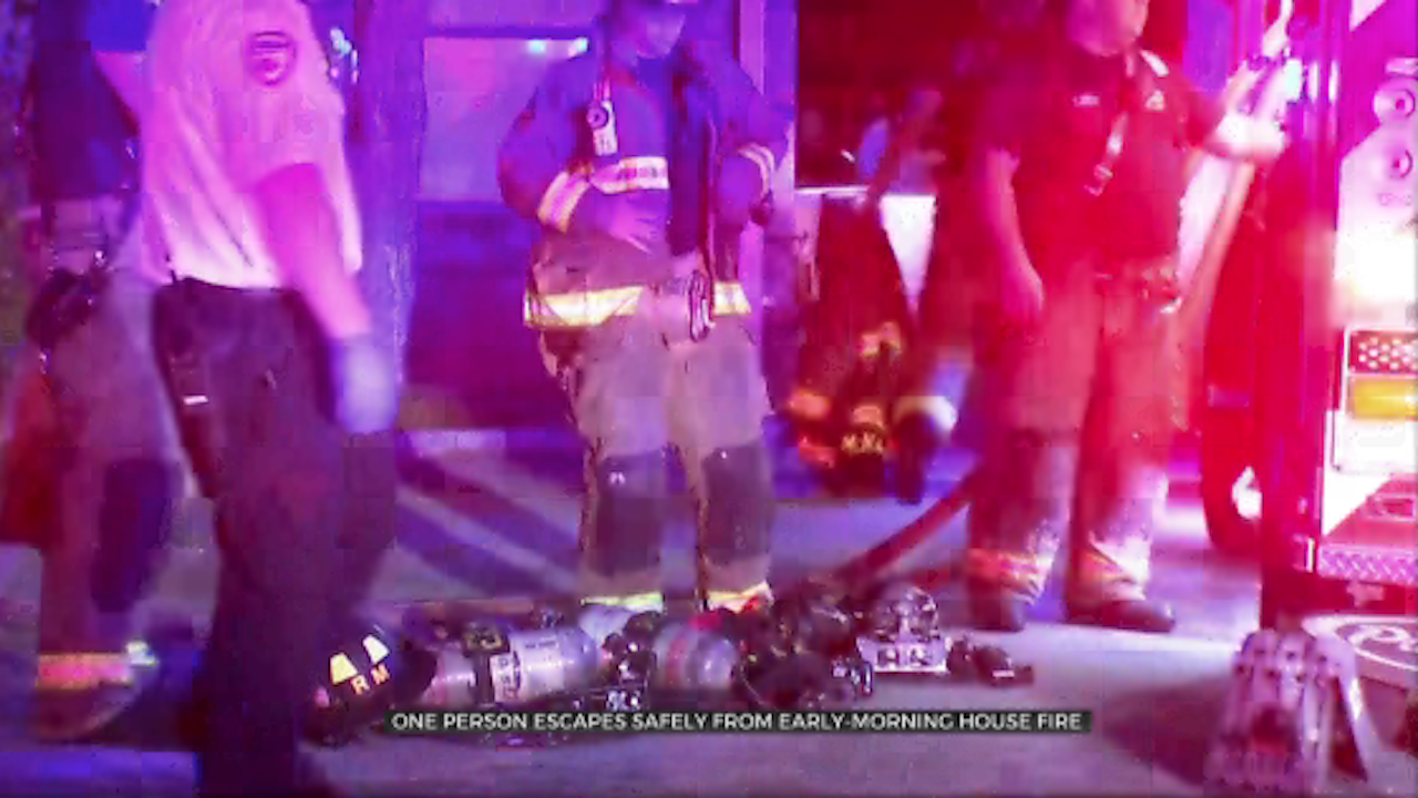 1 Escapes Safely From Early Morning NW OKC Apartment Fire