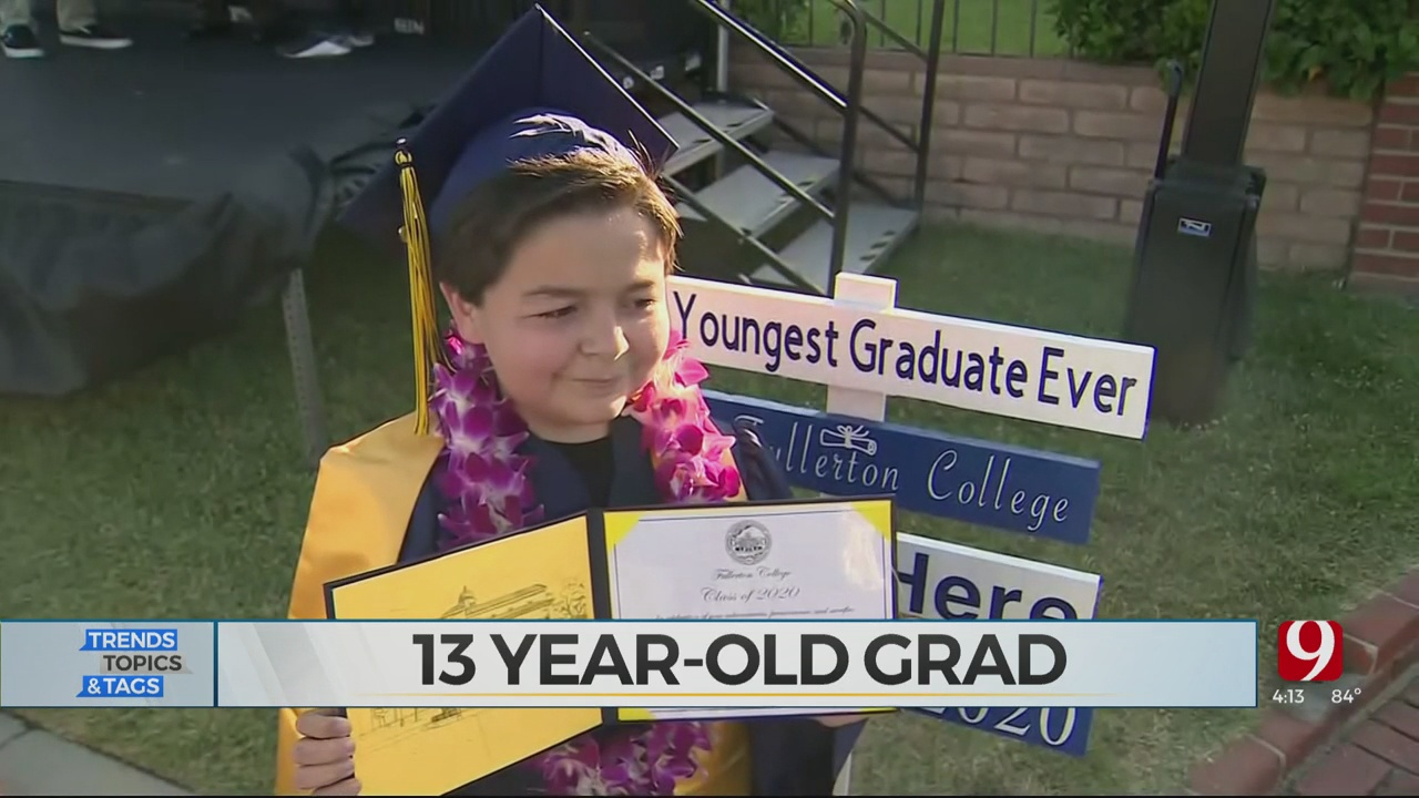 Trends, Topics & Tags: 13-Year-Old College Graduate
