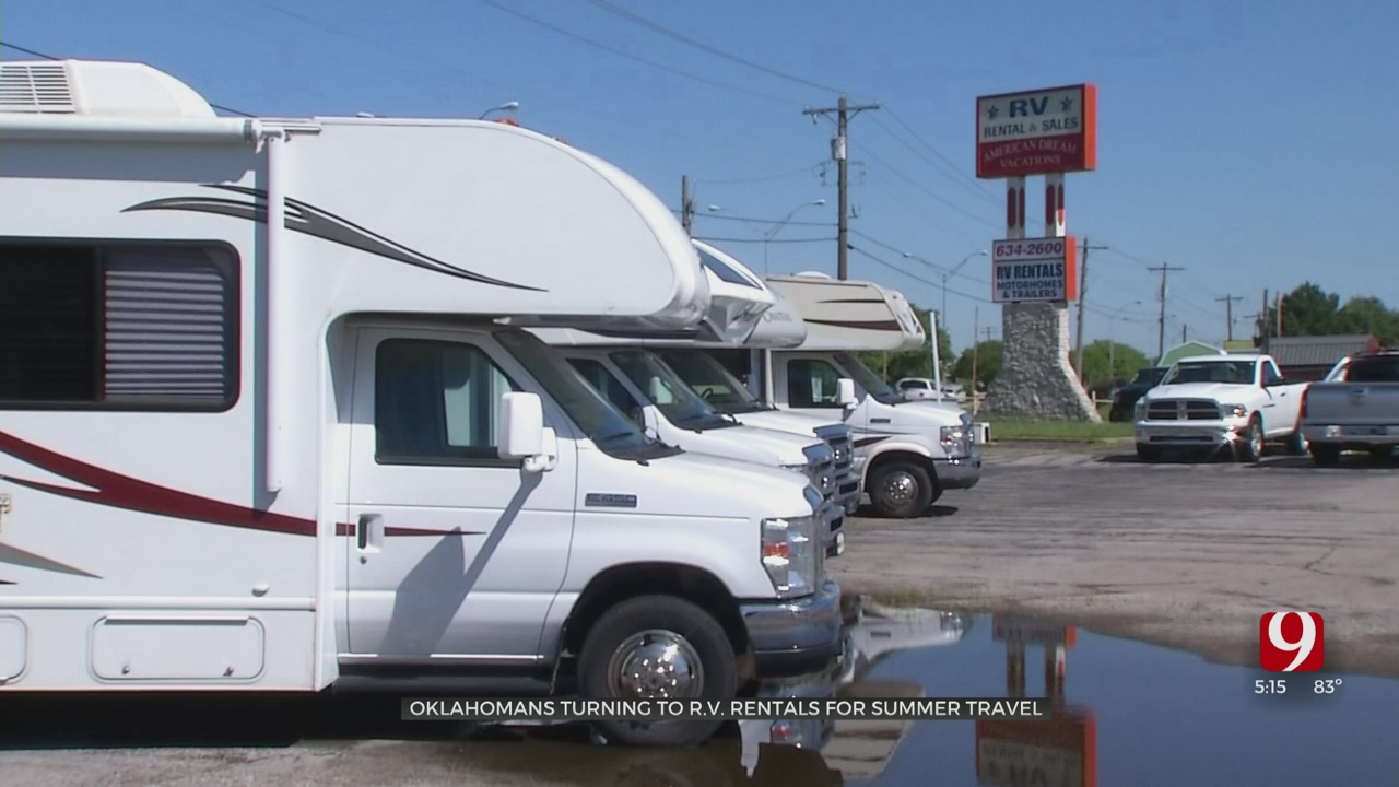 Oklahomans Turning To RV Rentals For Summer Travel