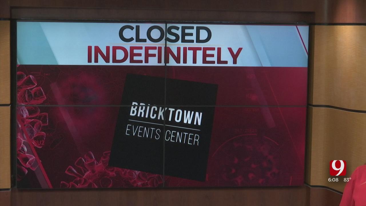 Bricktown Events Center Will Close Indefinitely