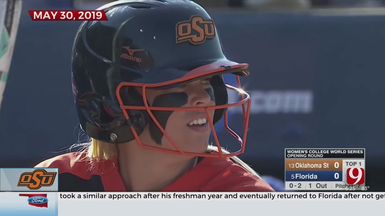 One Year Ago: OSU's Samantha Show Does It All In The Women's College World Series