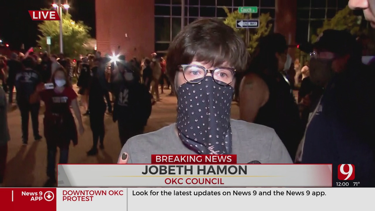 Oklahoma City Councilwoman JoBeth Hamon Shares Her Thoughts On Saturday's Protest