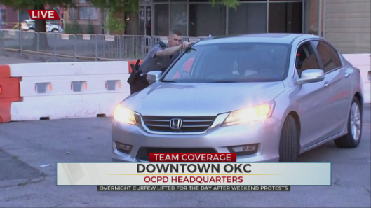 Parts Of Downtown OKC Under Curfew After Overnight Protests
