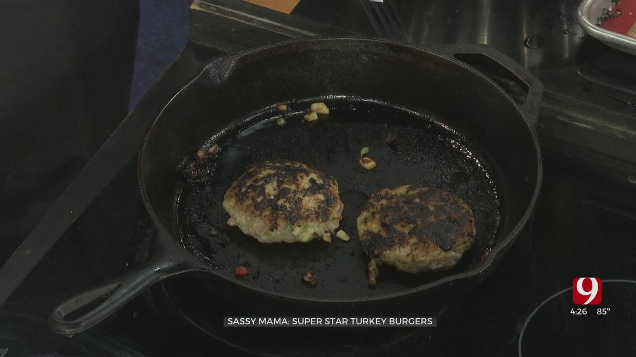Super Star Turkey Burgers