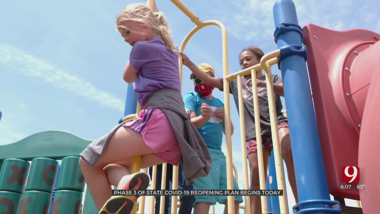 Summer Camps Open Along With Phase 3 In Oklahoma