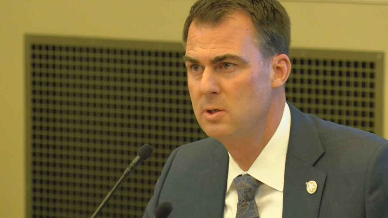 Gov. Stitt Authorizes OHP, National Guard To Provide Support During Protests