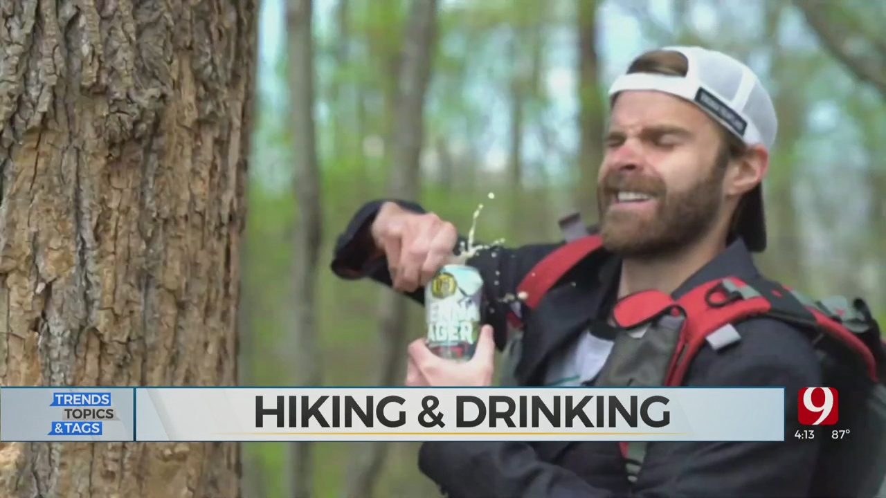 Trends, Topics & Tags: Hiking & Drinking